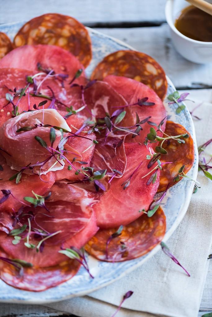 Hein van Tonder's Watermelon Carpaccio