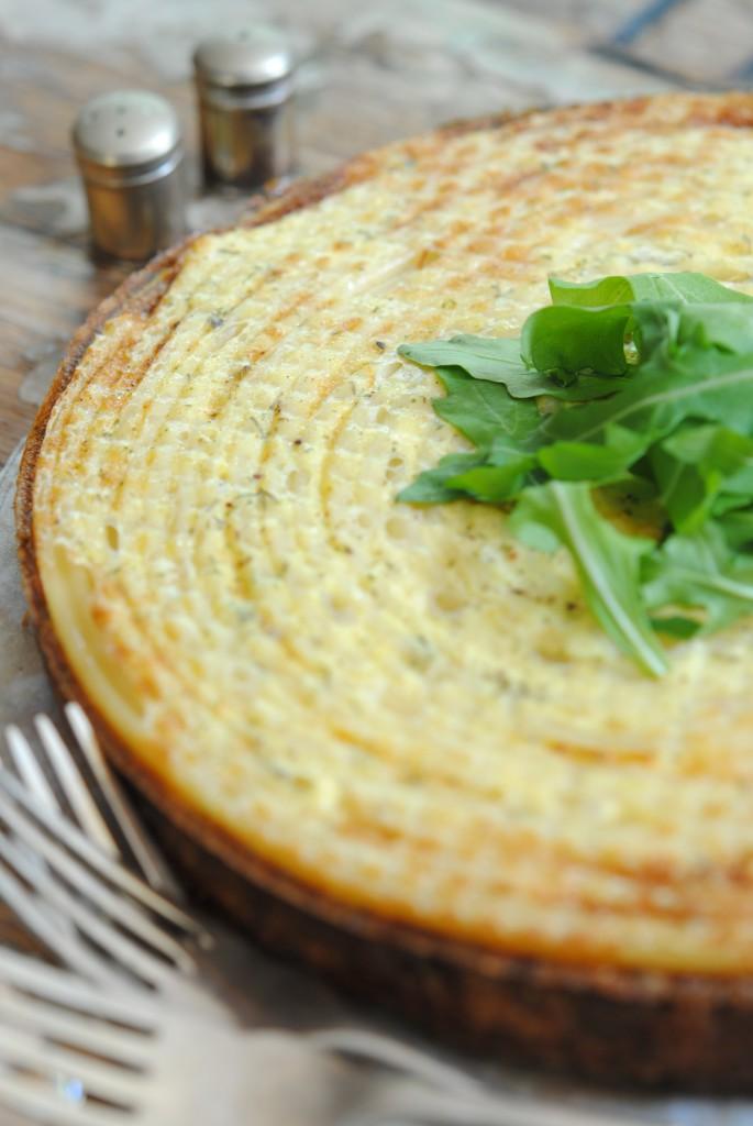 Sophia Lindop's Herbed Haddock & Crème Fraîche Timballo