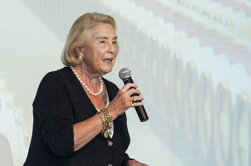 Madame May-Eliane de Lencquesaing of Glenelly Estate Cape Wine Auction Ambassador