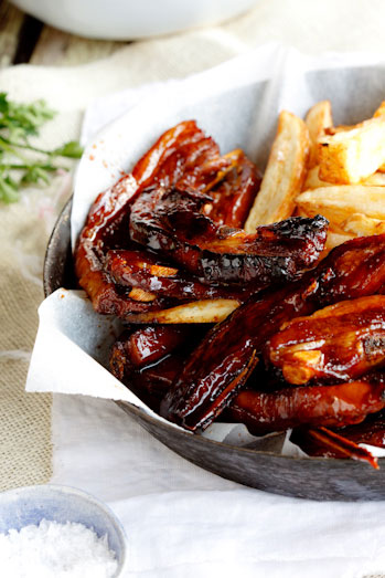 Alida Ryder's Sticky Asian Lamb Riblets