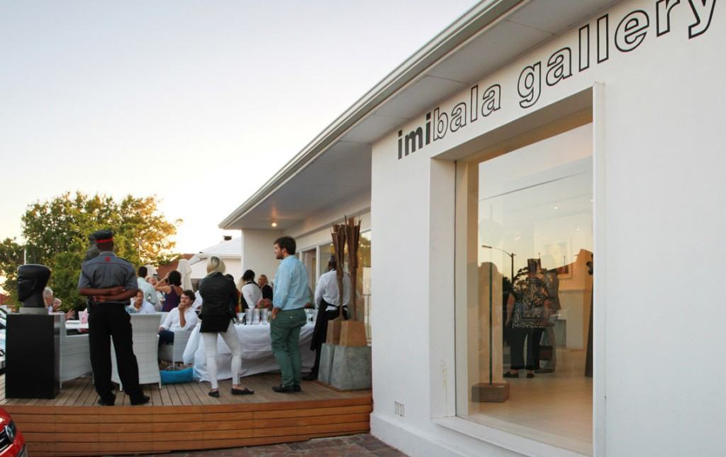 The opening of the Imibala Gallery
