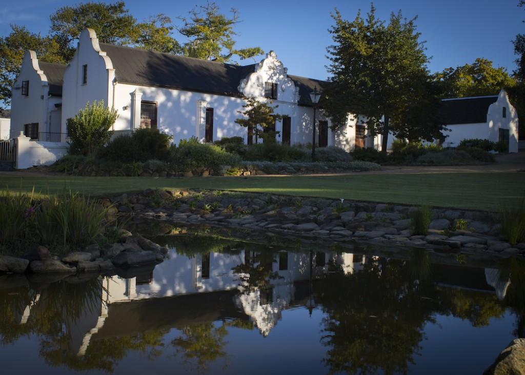 Uiterwyk Manor House home of DeWaal Wines