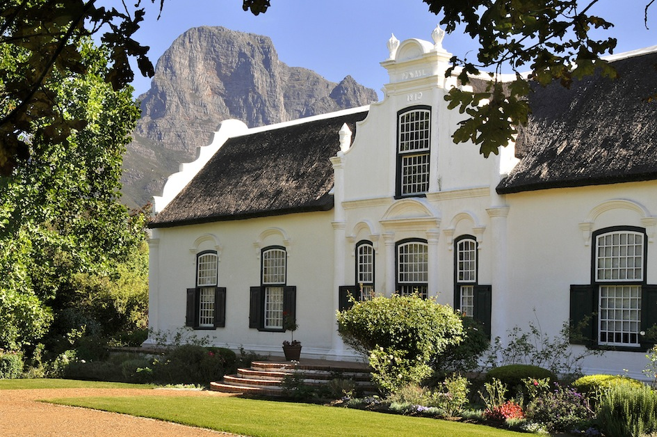The Boschdendal Manor House built by Paul de Villiers in 1812