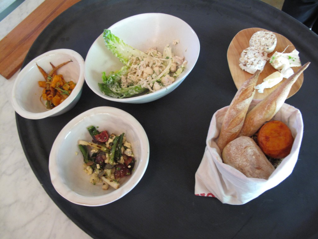 Salad First Course with home made breads