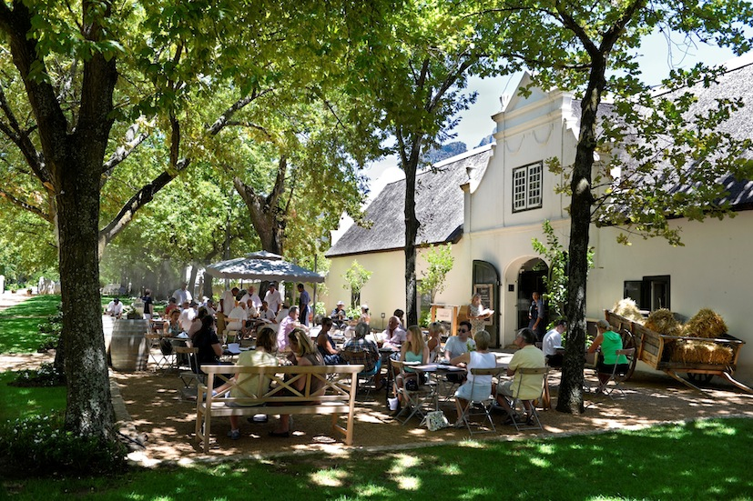 Boschendal Deli al fresco lunch