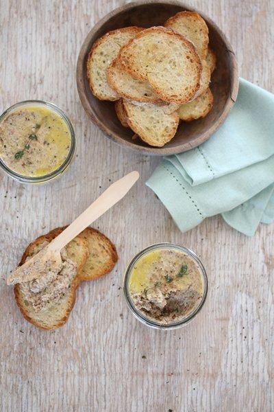 Carey Erasmus's Mushroom & Bacon Paté