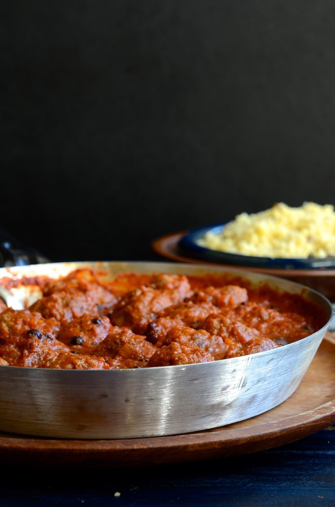 Dianne Bibby's North African Chermoula Meatballs