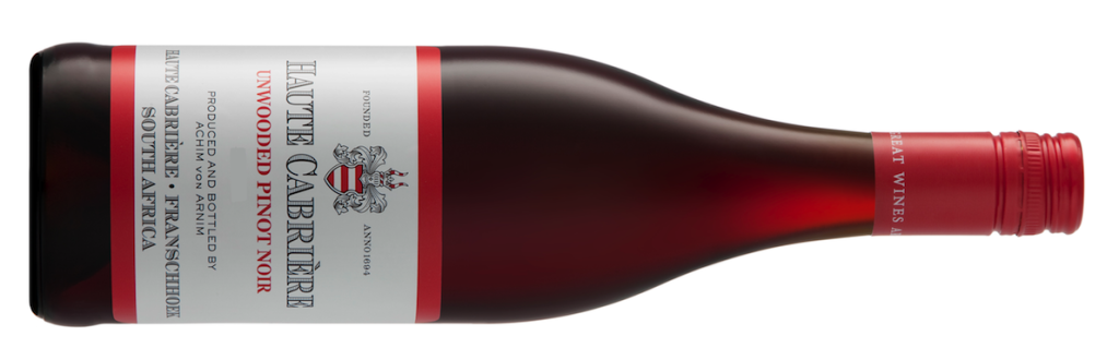 Haute Cabriere Unwooded Pinot Noir 2014