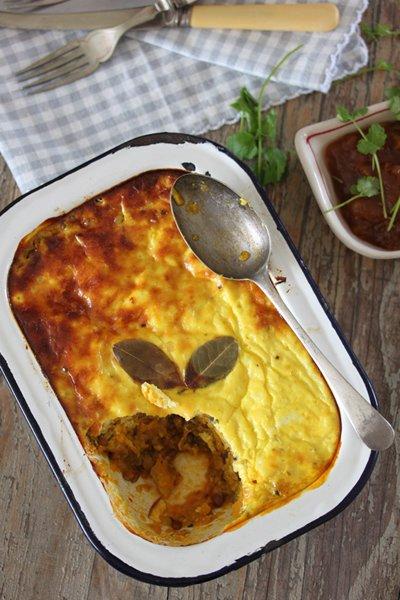 Carey Boucher Erasmus's Lentil & Veggie Bobotie