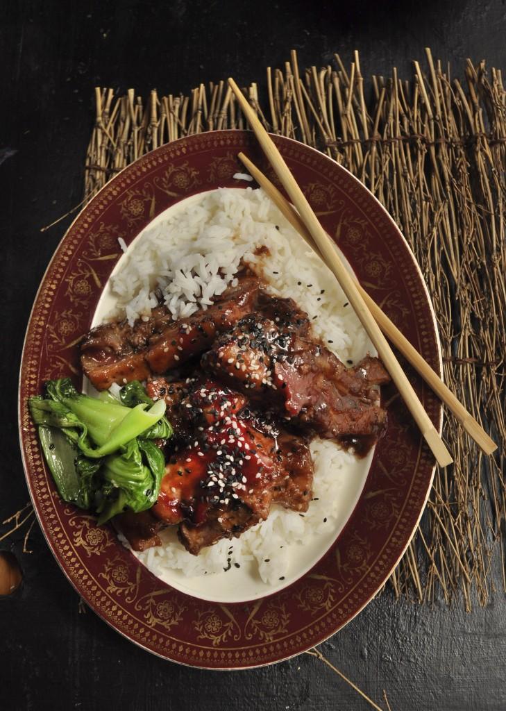 Nina Timm's Chinese Pork with plum sauce