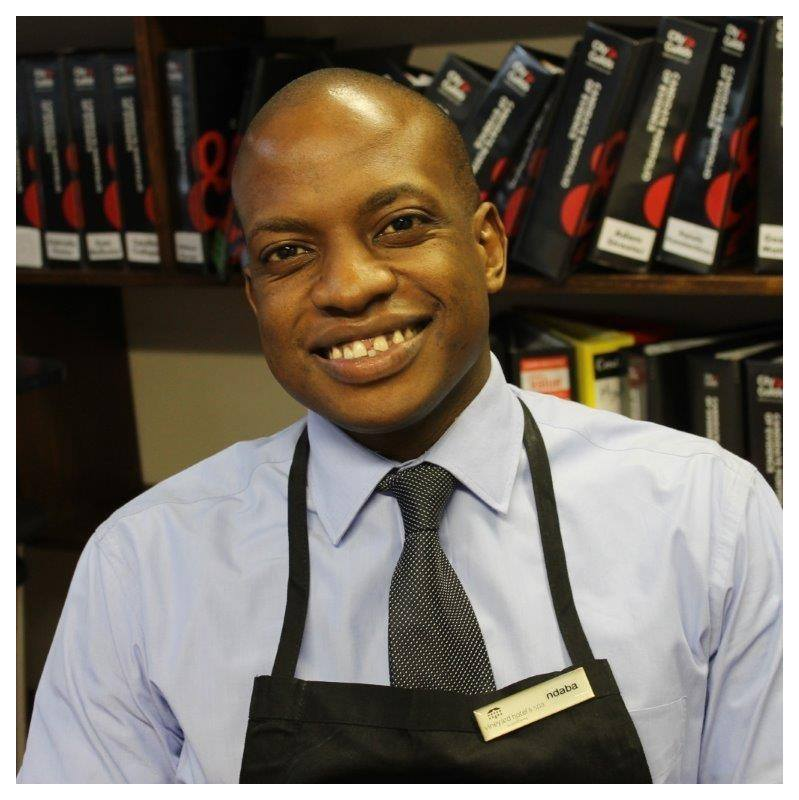 Ndaba Dube Restaurant manager at The Vineyard Hotel