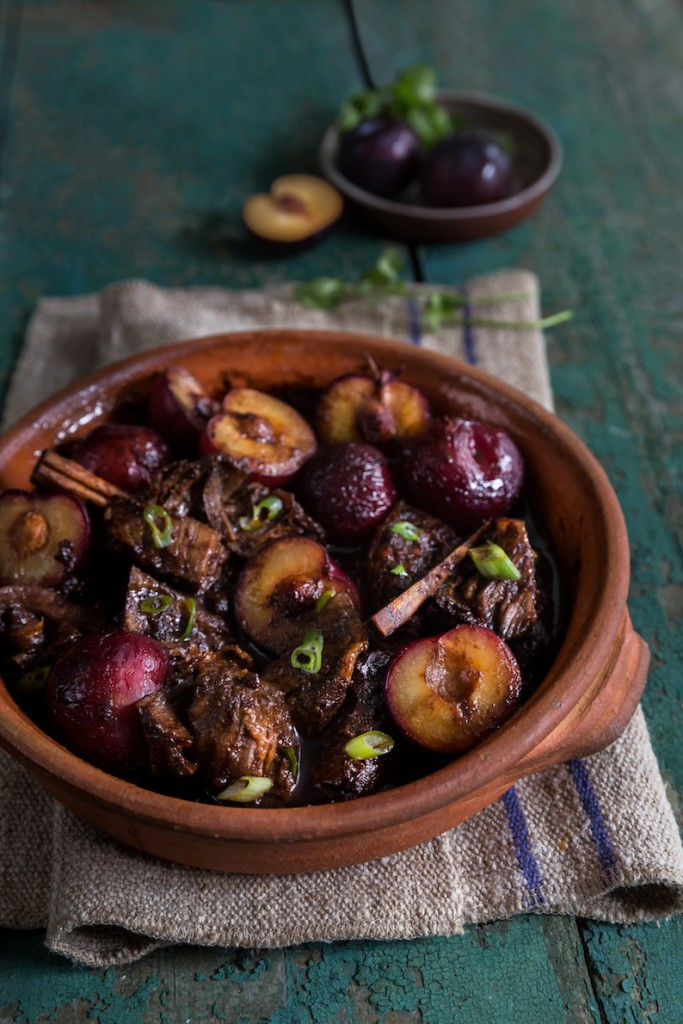 Tracy Foulkes's Indonesian Short Ribs with Plums