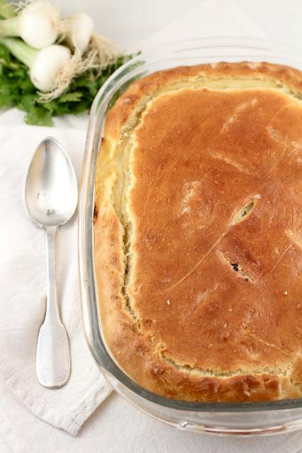 Jamie Schler's Chard, Fennel & Feta Pie