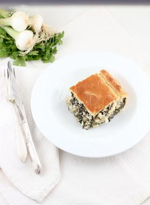 Jamie Schler's Chard Fennel & Feta Pie