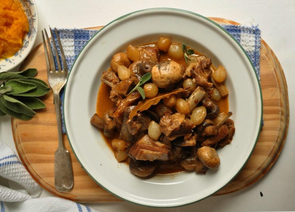 Nina Timm's Lab, Mushroom & Onion Stew
