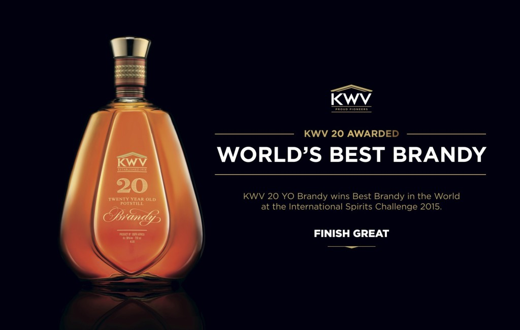KWV 20 Year Old Brandy