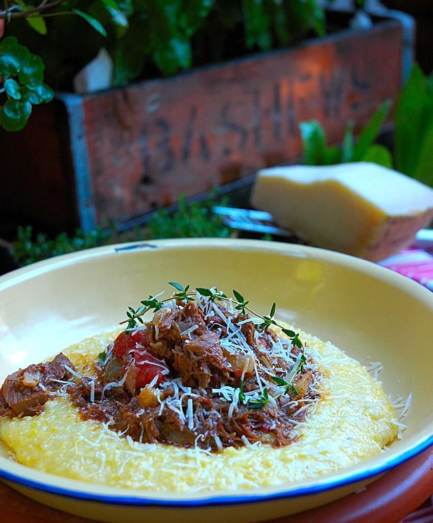 Nina Timm's Lamb ragù & cheesy polenta
