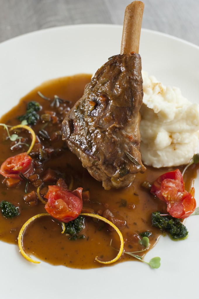 The Kitchen's Slow Roasted Karoo Lamb Shank