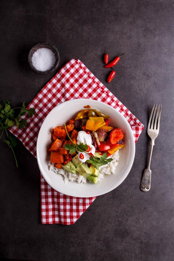 Alida Ryders Vegetable Burrito Bowls