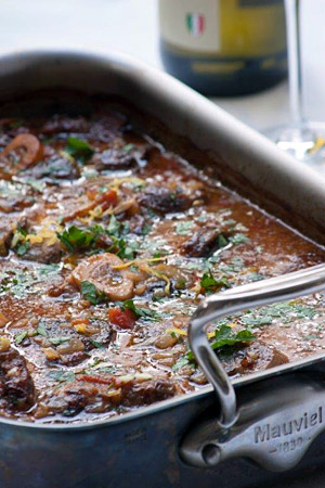Ina Paarmans Osso Buco with gremolata