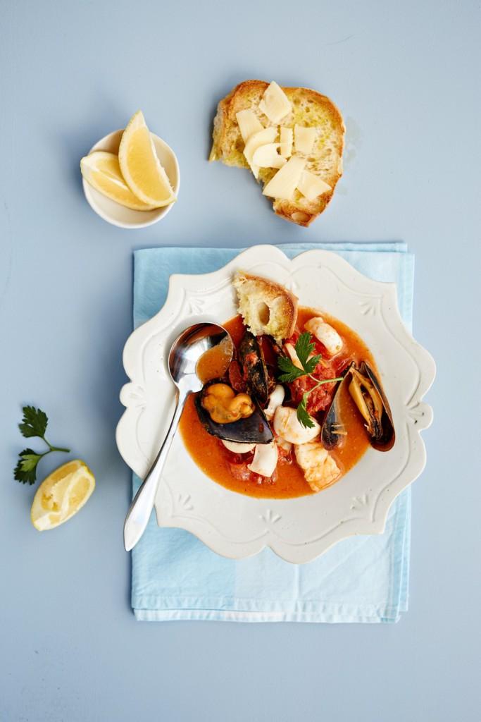 Sarah Grahams Arrabbiatta Seafood Soup_p53