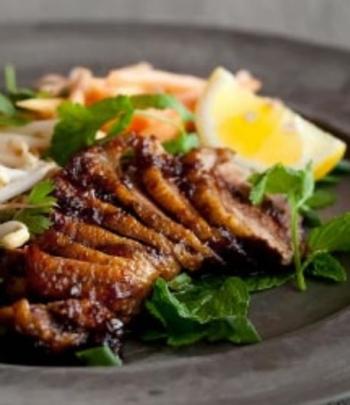 Balsamic & Roasted Garlic Glazed Duck - Tracy Foulkes