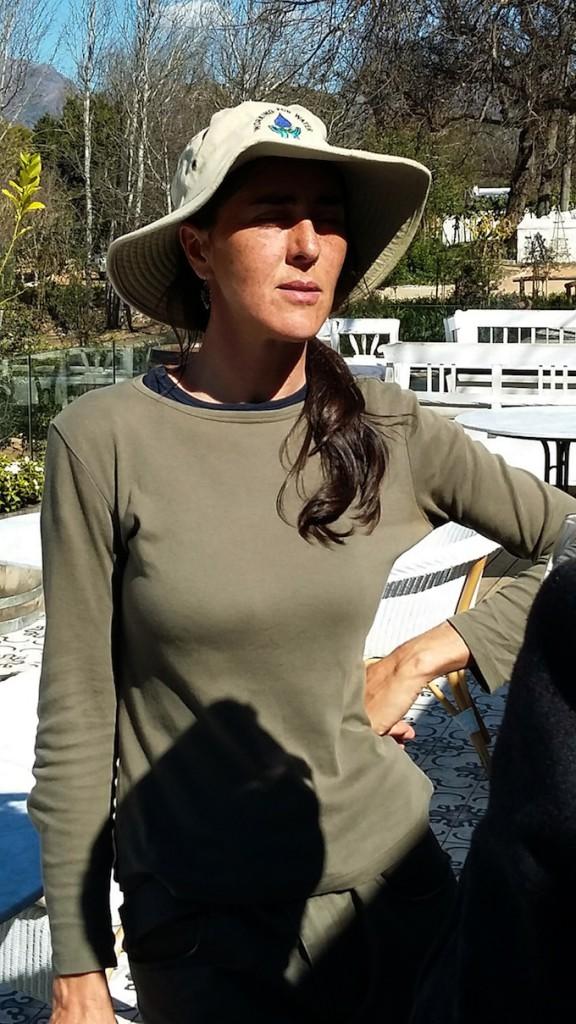 Megan McCarthy Boschendal Horticulturist