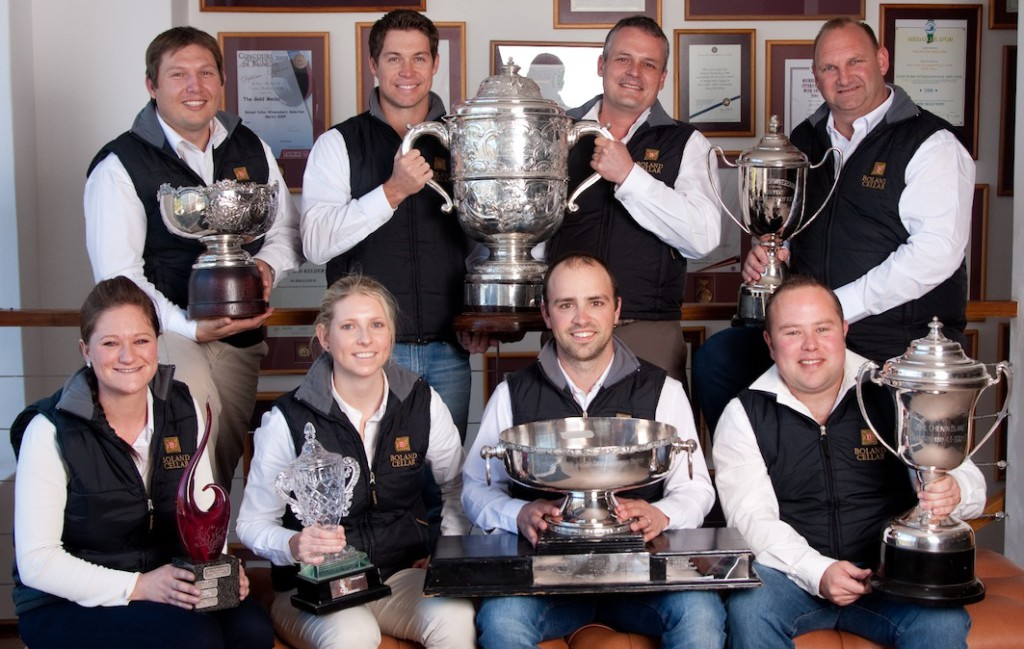 Award winning Boland Cellar production team