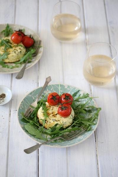 Carey Boucher Erasmuss Baked Ricotta with Parmesan & Herbs