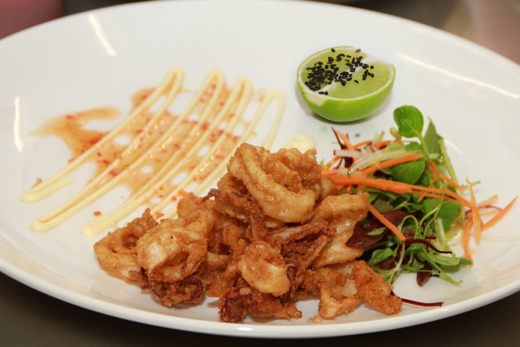 B Chili Salt Patagonian Squid with Chili Sauce