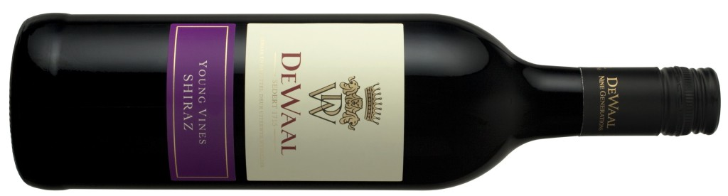 De Waal Young Vines Shiraz 2013