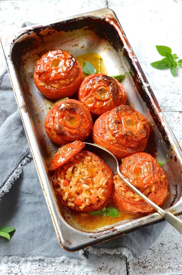 Tomatoes With A Surprise Filling Recipes — Dishmaps