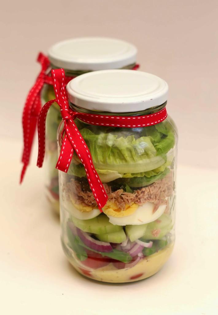 Kate Liquorishs Noicoise Salad Jar