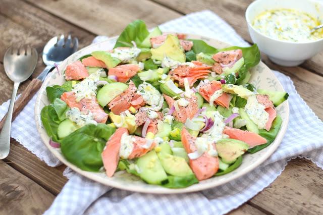 Kate Liquorishs Smoked Trout Salad