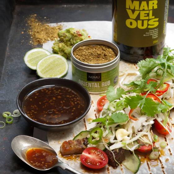 Marvellous with Pork Tacos