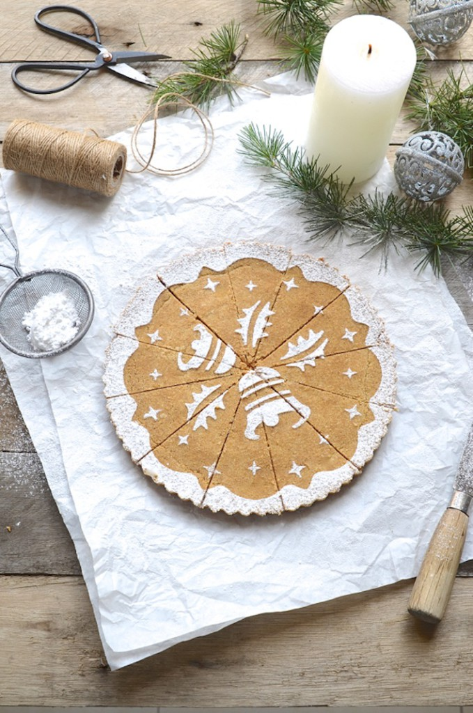 Dianne Bibbys Ginger & oat shortbread