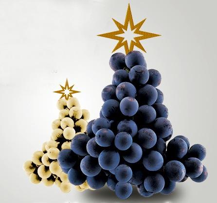 Portuguese Grape Christmas Card