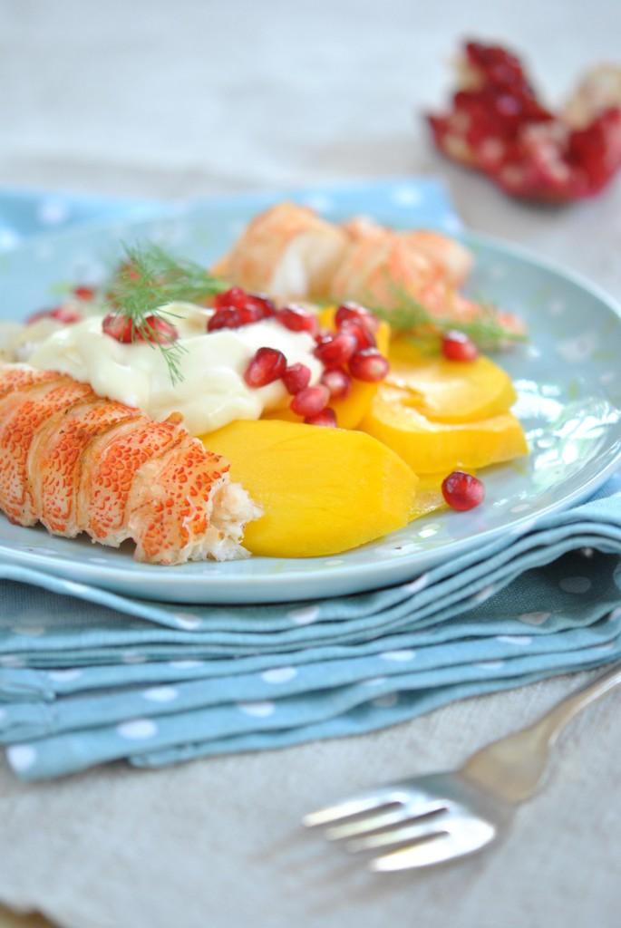 Sophia Lindops Mango, fennel and braaied lobster salad