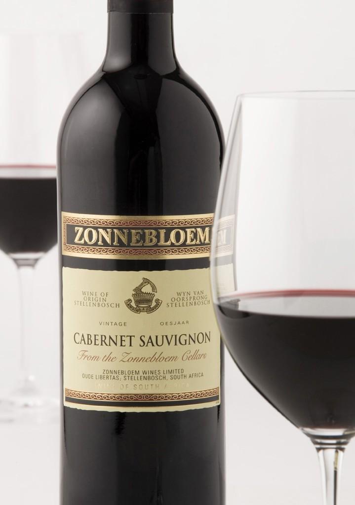 Zonnebloem Cabernet Sauvignon NV styled image (HR)