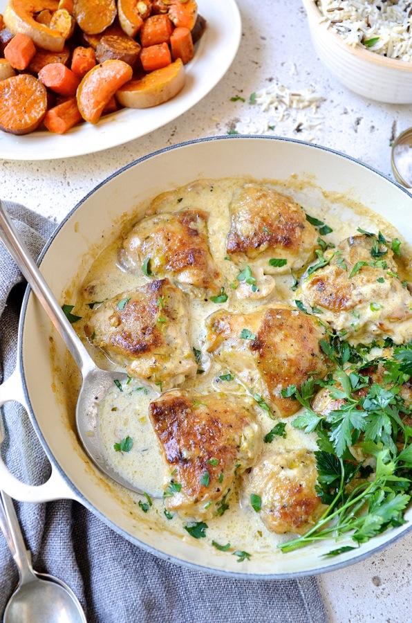 Dianne Bibbys Chicken & leek casserole