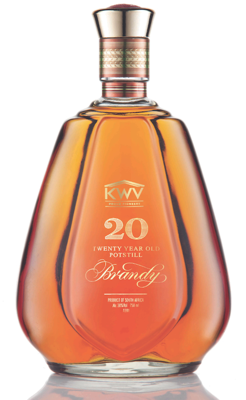 KWV 20 year old Potstill Brandy copy