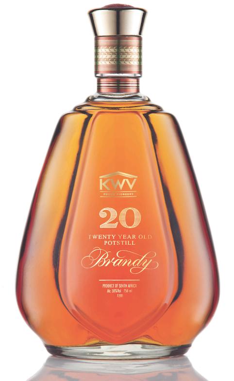 KWV 20 year old Potstill Brandy copy