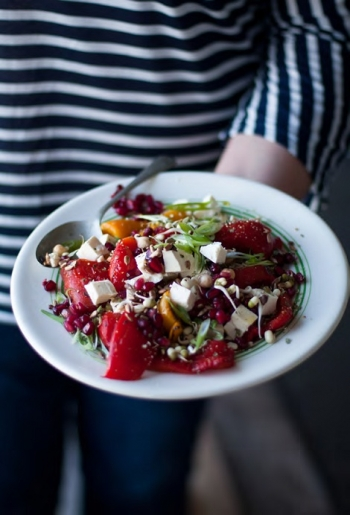 Tracy Foulkes Pepper & Pomegranate Salad