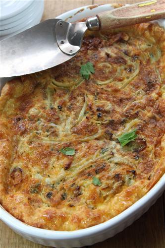 Carey Boucher Erasmus Winning Cheese & Onion Tarthe