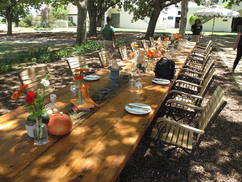 The Harvest Lunch Table
