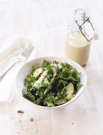 Tracy Foulkess Kale & Asparagus Salad