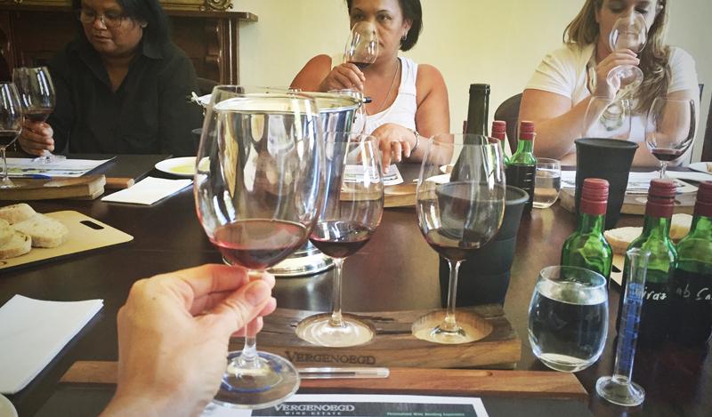 Vergenoegd Wine Blending Experience
