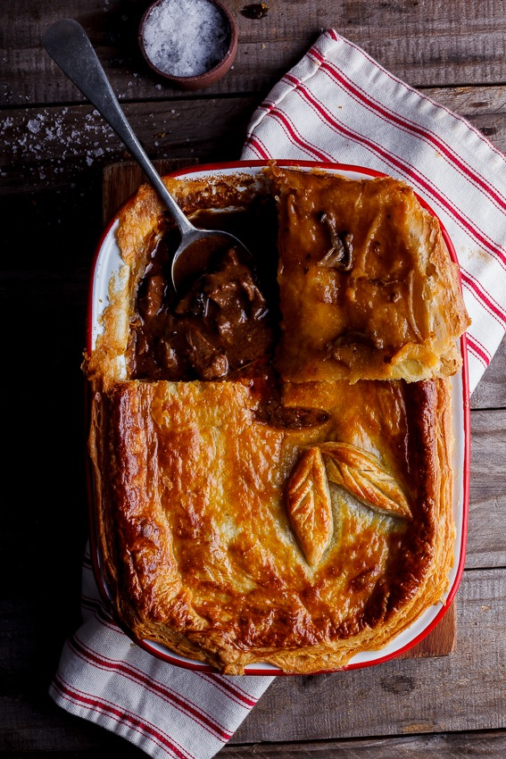 Alida Ryders Steak & Mushroom Pot Pie