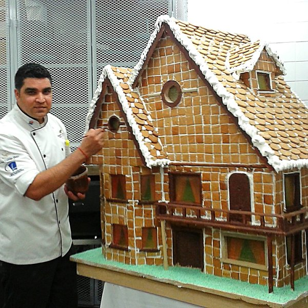 Bobby & his Gingerbread House