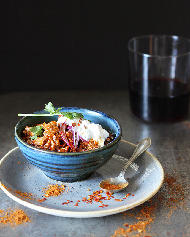 Lizet Hartley Pulled beef shin chilli con carne